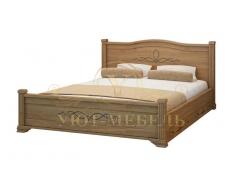 Деревянная односпальная кровать Соната