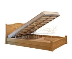 Кровать с подъемным механизмом из массива Соната тахта