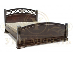 Кровать из массива сосны Спарта