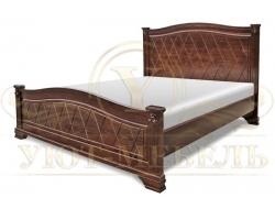 Кровать из массива сосны Станфилд