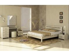 Деревянная односпальная кровать Стиль 4А