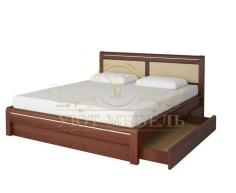 Кровать с ящиками из массива Стиль 6А тахта