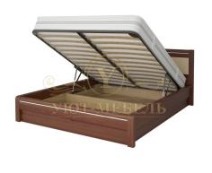Кровать с подъемным механизмом из массива Стиль 6А тахта