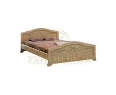 Деревянная односпальная кровать Таката