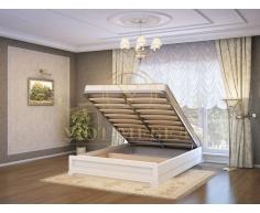 Кровать с подъемным механизмом из массива Таката тахта