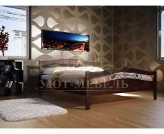 Кровать из массива сосны Талисман