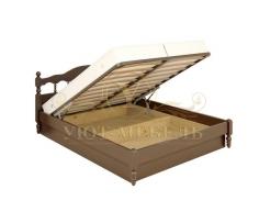 Деревянная односпальная кровать Точенка тахта