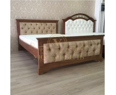 Деревянная односпальная кровать Тунис