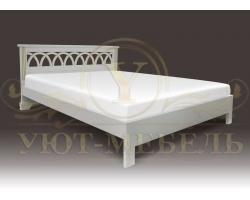 Кровать с подъемным механизмом из массива Валенсия