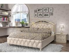 Деревянная двуспальная кровать из массива Венеция тахта 2