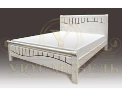 Кровать с подъемным механизмом из массива Харви