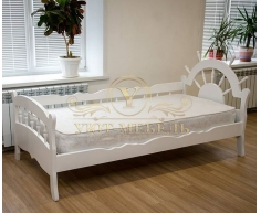 Детская кровать из массива дерева Юнга