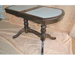 Обеденный стол из массива Илья кермогранит
