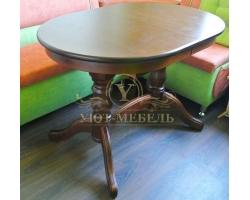 Обеденный стол из березы Илья не раздвижной