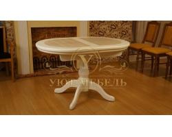 Обеденный стол из березы Муромец кафельный