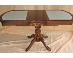 Обеденный стол из массива Муромец кермогранит