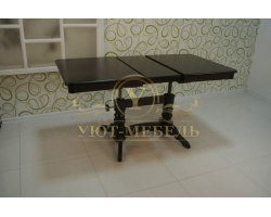 Обеденный стол из массива Трансформер прямоугольный