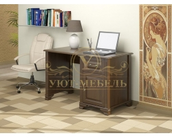 Письменный стол из бука Фараон ящик дверка