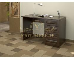 Письменный стол из массива Герцог 4 ящика