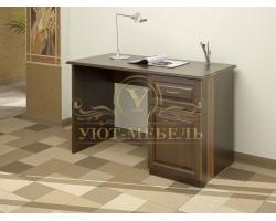Письменный стол из массива Герцог ящик дверка