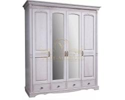 Шкаф из массива 4 створчатый Паола