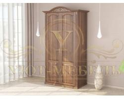 Шкаф из массива сосны 2 створчатый Венеция