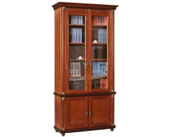 Книжный шкаф из массива 2 створчатый Валенсия