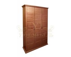 Шкаф из массива сосны 3 створчатый Альба