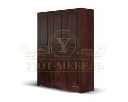 Шкаф из массива сосны 3 створчатый Мика