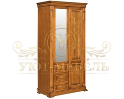 Шкаф 2 створчатый Верди Люкс 1108