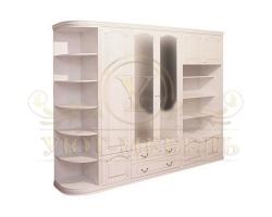 Шкаф из массива сосны Эстель