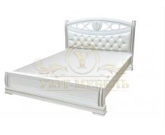 Деревянная двуспальная кровать из массива Сиена тахта