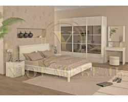 Спальный гарнитур из массива Арикама