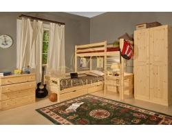 Спальный гарнитур из массива Икея