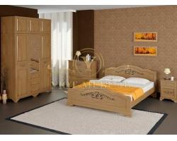 Спальный гарнитур из массива Муза