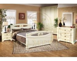 Спальный гарнитур из массива Оливия