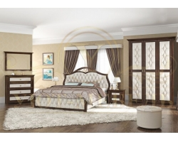 Спальный гарнитур из массива Ровелла