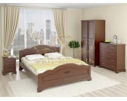 Спальный гарнитур из массива Сатори