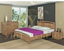 Спальный гарнитур из массива Селена 2