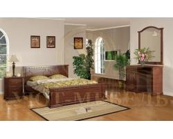 Спальный гарнитур из массива Симона