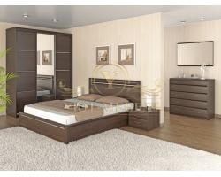 Спальный гарнитур из массива Стиль 1А 2