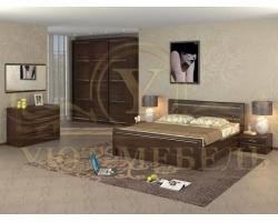 Спальный гарнитур из массива Стиль 6