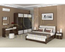 Спальный гарнитур из массива Арикама 2