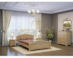 Спальный гарнитур из массива Таката