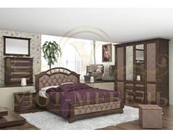 Спальный гарнитур из массива Венеция 4