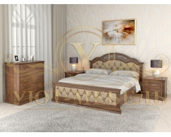 Спальный гарнитур из массива Венеция 6