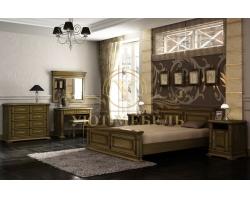 Спальный гарнитур из массива Верди 5