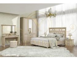 Спальный гарнитур из массива Виттория 3