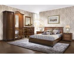 Спальный гарнитур из массива Валенсия 2