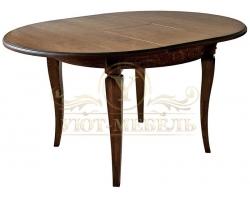 Обеденный стол из массива Милано 6